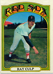1972 Topps Baseball Cards      002       Ray Culp
